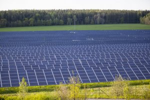 Photovoltaic power station, Letkov, Czech Republic