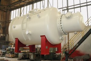 Furnace body - vacuum tank, Gronau GmbH, Germany